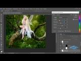 Создаём в Фотошоп коллаж с лесной феей - 3