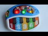 Видео обзоры игрушек - пианино для маленьких