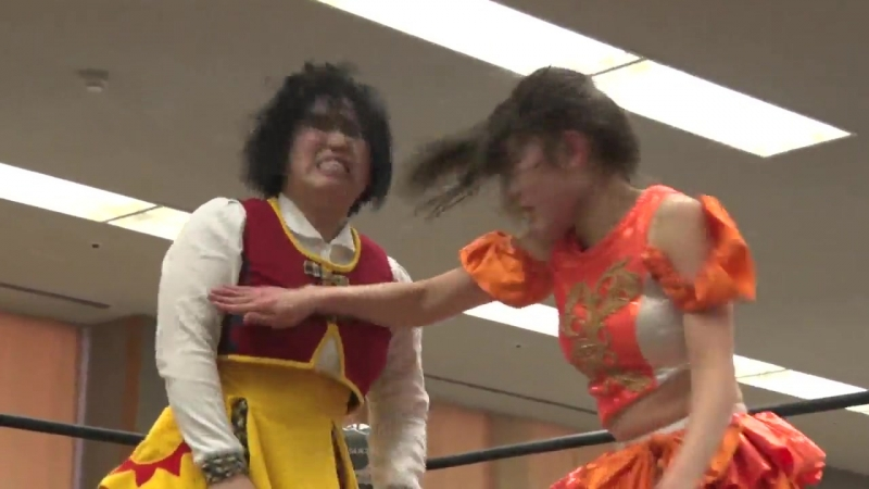 Marika Kobashi vs Nodoka One san TJP in Nagoya