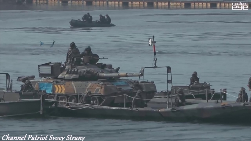 South Korea showed their T 80 tanks received from Russia as debt payment