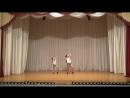 МАРКЕЛОВА ВЕРОНИКА И МАРКЕЛОВА МАРИНА VI городской конкурс детских и юношеских балетмейстерских работ «Начало»