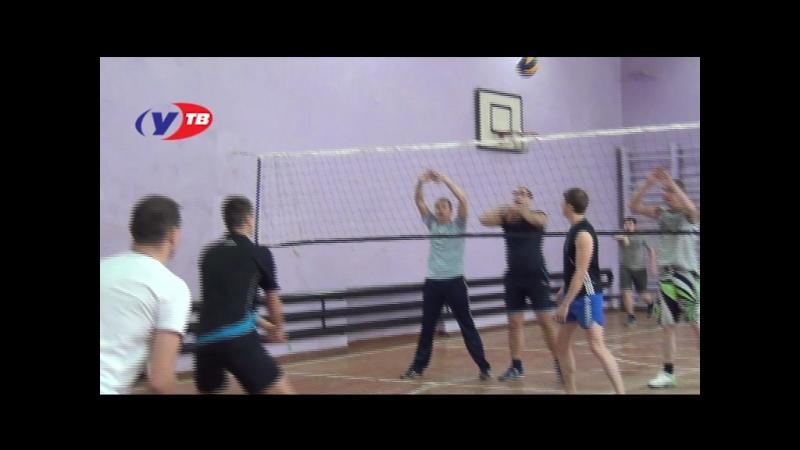 товарищеская игра в волейбол между полицейскими Отдела МВД России по Верхнеуфалейскому городскому округу и сотрудниками админист