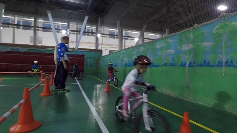 Велотренировка на Раевского 16 с Master Sport Kids