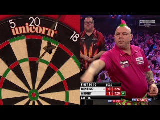 Stephen Bunting vs Peter Wright (Grand Slam of Darts 2017 / Round 2)