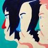 mirrored lips