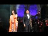 Angela Gheorghiu and Mario Frangoulis sing Caro elisir...Esulti pur la barbara from the Donizetti opera Lelisir damore