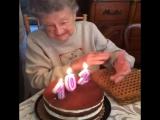 102 жасқа келген апамыз туған күнінде... 🤣