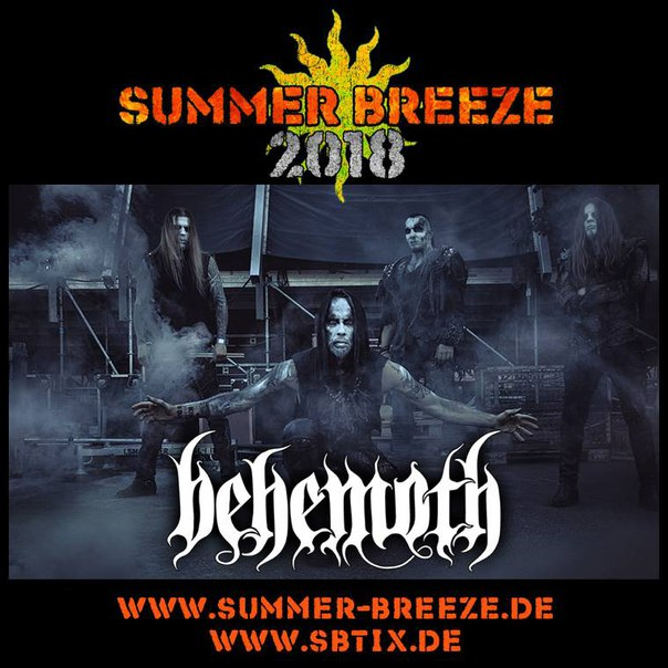 Summerbreeze 2018 bands