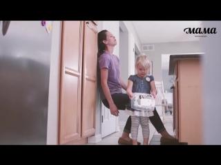 Обычный день: взгляд мамы и ребенка.