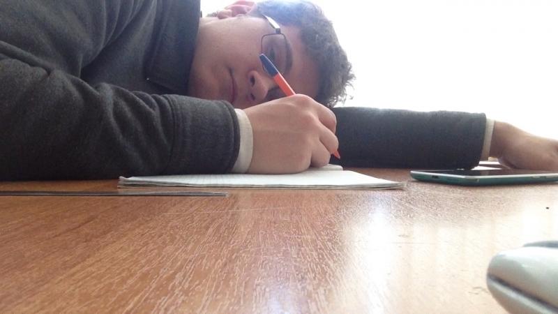 Колян притомился