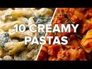 10 Creamy Satisfying Pasta Dishes