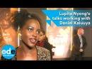 Lupita Nyong'o talks working with Daniel Kaluuya