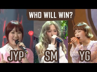 Suhyun VS Taeyeon VS Park Jimin - High notes - Try not to get goosebumps