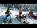 Ергаки 2017, открытие снегоходного сезона