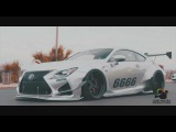 Rocket Bunny Lexus RCF x ARMYTRIX Exhaust x Cars &amp Coffee Destin