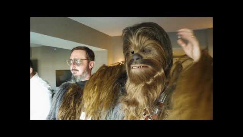 Copy of Adam Savage and John Hodgman at Comic-Con as Chewbaccas!