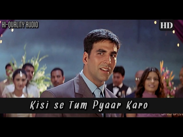 Kisise Tum Pyaar Karo - Andaaz (2003) Full Video Song *HD*