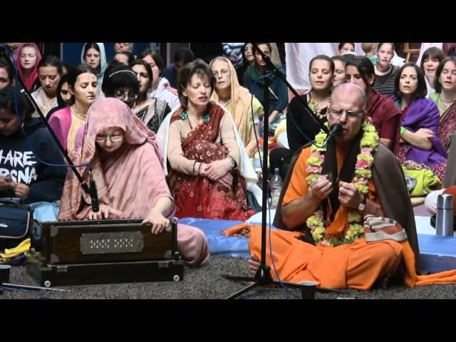 Kirtan Mela Nama Yagna with H.H. Bhakti Bringa Govinda Swami 01.09.2011 in Germany