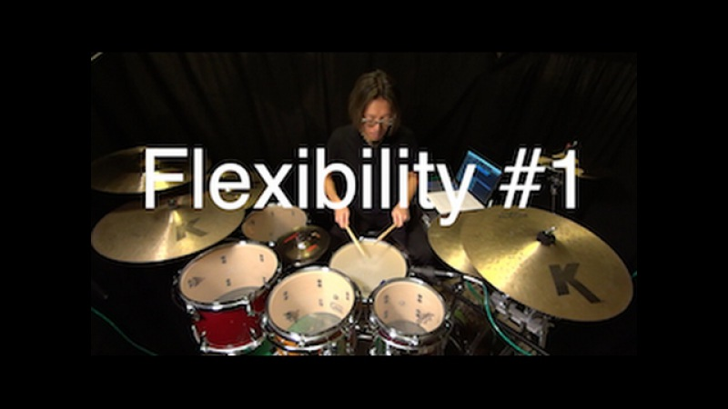 Simon Phillips influenced hand flexibility exercise by Ryo Tanaka