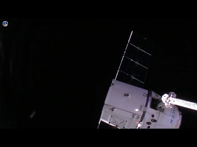 Dragon CRS 13 departing the ISS 20x