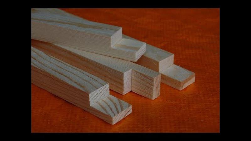 Изготовление верхней планки на рамку улья