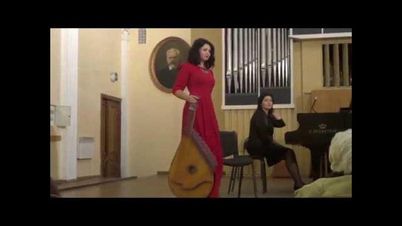 Маріанна Волкова. М.Дремлюга - Концерт для бандури і симфонічного оркестру IIч.