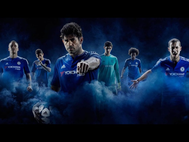 Chelsea 2015-16 adidas Home Kit Launch