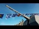 На новейшем фрегате «Адмирал Макаров» поднят Андреевский флаг