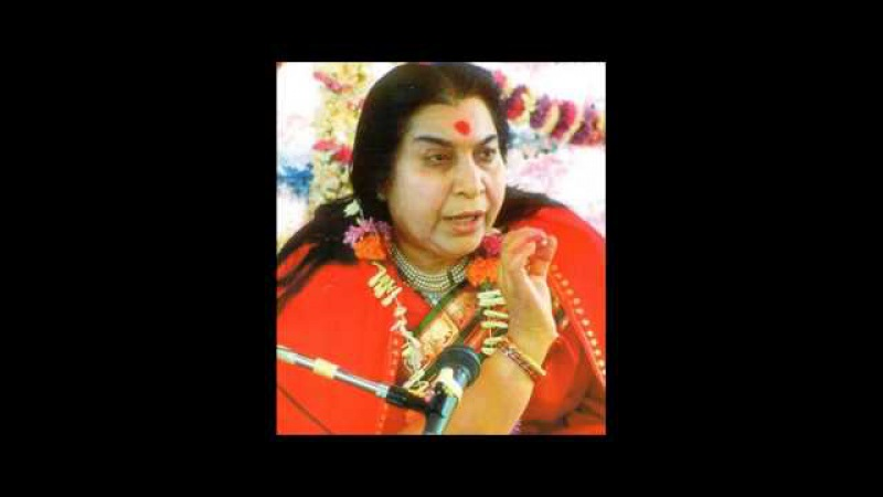 Шри Матаджи Нирмала Деви - лекция Шри Матаджи перед музыкальной программой 16.12.199...
