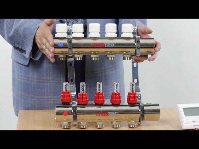 Коллекторный блок VALTEC. Обзор продукта