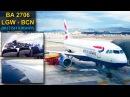 TRIP REPORT British Airways LONDRES - BARCELONA Airbus A319