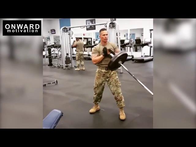 Тренировка американского солдата