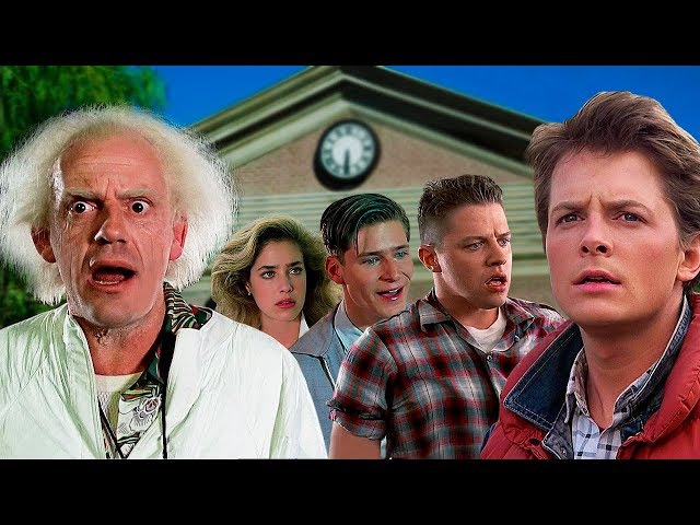 BACK TO THE FUTURE - Then and Now 2017 ✪ Real Name and Age