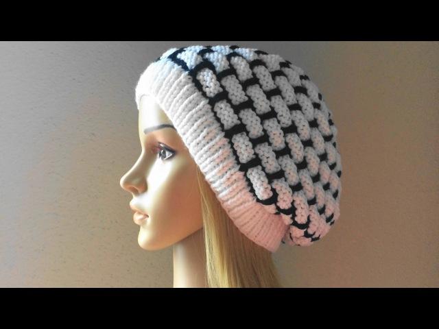 How To Knit A Wall Brick Hat, Lilu's Handmade Corner Video 24