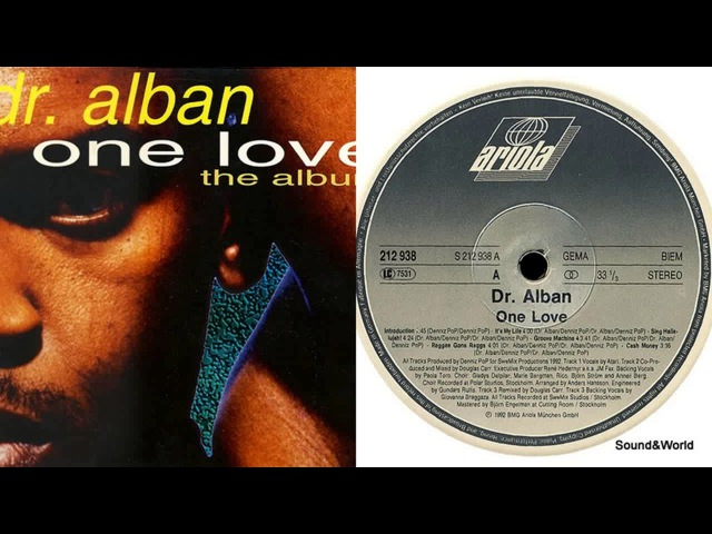 Dr. Alban – One Love (Vinyl, LP, Album) 1992.