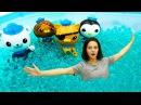 ОКТОНАВТЫ Новые серии Игрушки Октонавты и тетя Маша в Детском садике КАПУКИ КАН
