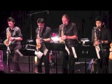 Boogie Stop Shuffle - Sax Quartet (Charles Mingus) - Cal Jan's Recital