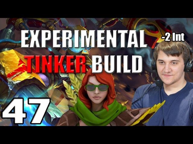 Arteezy - Best Moments 47 - EXPERIMENTAL TINKER BUILD ft SHACKLE-LESS WINDRUNNER