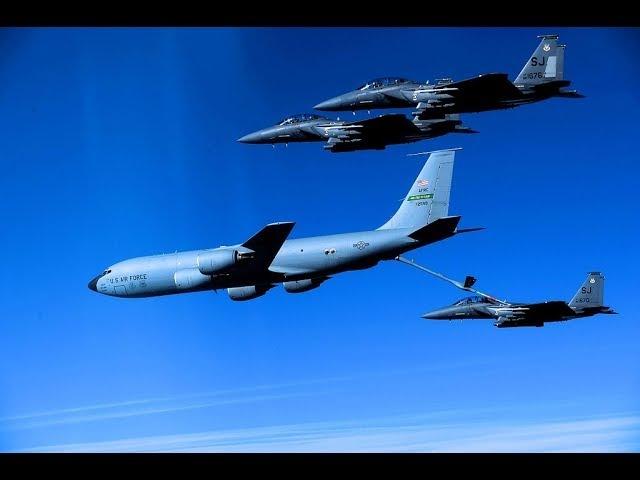 Boeing KC-135 - воздушный танкер