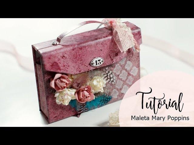 Tutorial Maleta Mary Poppins con Stone Paper