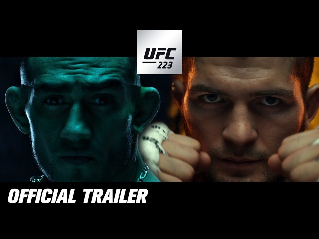 """UFC 223: Official Trailer - """"Nowhere to Hide"""""""