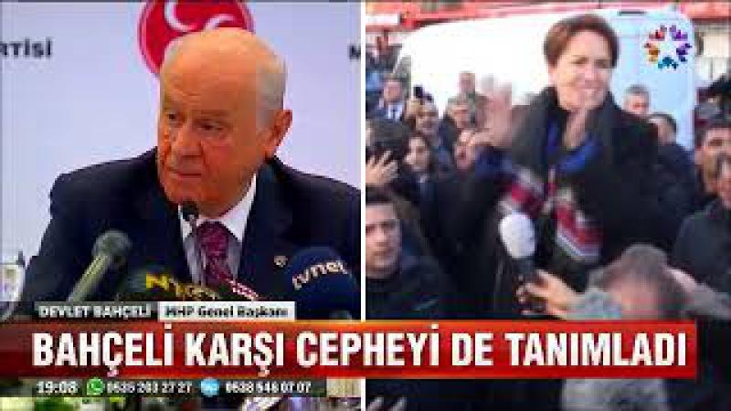 Bahçelinin Erdoğana destek açıklamasına Patron çıldırdı MHPyi kapatıyor eleştirisi