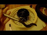 Сборка, центровка, балансировка, бортировка колес. Yamaha TT600