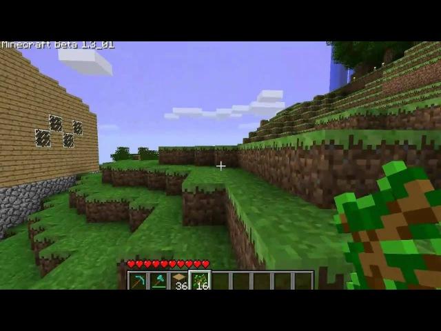 Дмитрий Дозкоз • MineCraft - BETA-цикл. 51 серия - Дом на дереве
