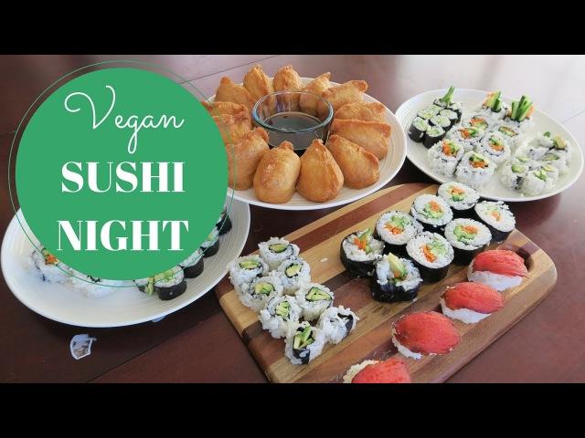 Plant Based VEGAN Sushi Night
