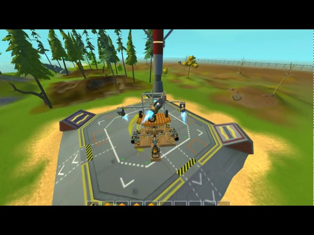 ScrapMechanic. Helikopter.