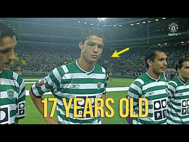 Cristiano Ronaldo in Sporting Lisbon 200203 - Ultimate SkillsDribblingGoals HD