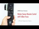 ZHIYUN Crane 2 Accessory│Motion Sensor Remote Control with Follow Focus│Official Operation Demo