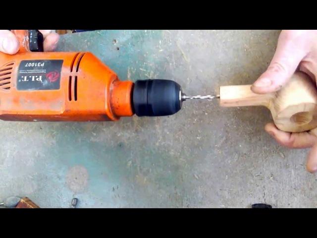 Изготовление курительной трубки своими руками из бука с эбонитовым мундштуком 2 часть