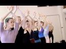 PNB's Swan Lake - Act 2 Corps de Ballet rehearsal